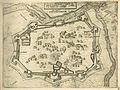 VIENNA, Città principal d' Ongheria, in modo che al presetne é fortificata - Camocio Giovanni Francesco - 1574.jpg