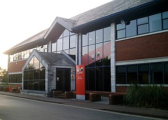 Virgin Media - The former headquarters of Virgin Mobile in Trowbridge, Wiltshire.