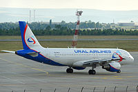 VQ-BFW - A320 - Ural Airlines