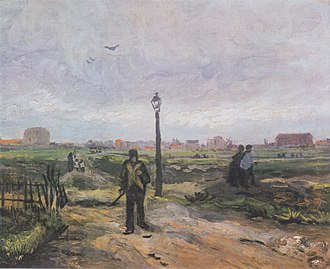 Outskirts of Paris (Van Gogh) - Image: Van Gogh Am Stadtrand von Paris