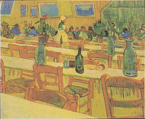 Interior of a Restaurant in Arles - Image: Van Gogh Das Restaurant Carrel in Arles