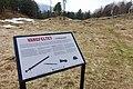 Vangfeltet, Vang Burial Site, Norway's largest burial field, iron-Viking age (gravfelt fra jernalderen), Oppdal, Trøndelag. Info board. 2019-04-25 361.jpg