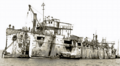 Varyag crucero destruído 1904.png
