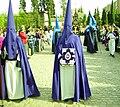 Venerable Hermandad del Santísimo Cristo de la Lanzada y María Santísima de la Caridad, Granda, Semana Santa 2009 (5).JPG