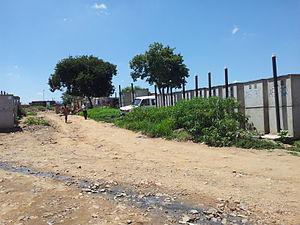 Kya Sands, Johannesburg - Ventilated Pit Latrines, Kya Sands informal settlement