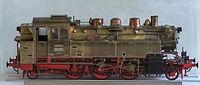 Verkehrsmuseum Dresden Modell der Dampflok BR 64 120 II.jpg