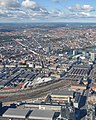 Vesterbro and Copenhagen Central Station (aerial view).jpg