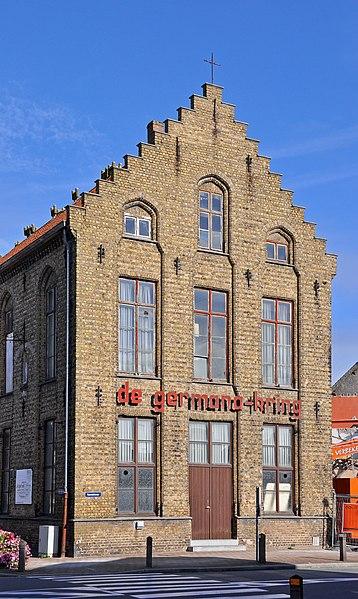 Veurne (Belgium): house Rozendalstraat 2