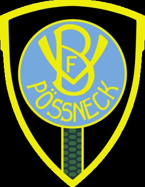 VfB Pößneck - former logo of VfB Pößneck (1909-1945)