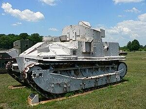 Vickers Medium Mark II - Image: Vickers Medium Mk IIA 1