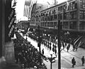 Victory Loan parade, marching north on 2nd Ave at Pike St, Seattle, April 21, 1919 (CURTIS 519).jpeg