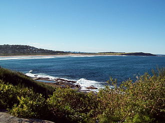 Dee Why - Dee Why Beach and Long Reef from the Bicentennial Coastal Walkway