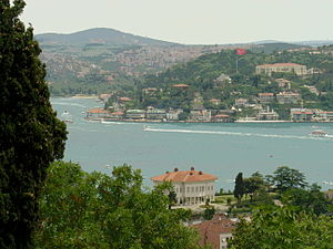 Robert College - A view of the Bosphorus from Robert College Plateau