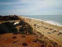 View of Praia da Rocha Baixinha 24 September 2012.JPG