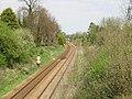 View of railway and bridge from Castle Street railway bridge - geograph.org.uk - 402590.jpg