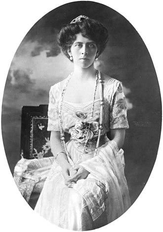 Princess Viktoria of Prussia - Princess Viktoria, c. 1908.