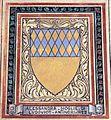 Villa pecori giraldi, sala degli stemmi di pietro alessio chini e dei suoi figli e nipoti, stemma antinori.jpg