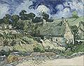Vincent van Gogh - Thatched Cottages at Cordeville - Google Art Project.jpg