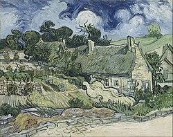Vincent van Gogh: Chaumes de Cordeville