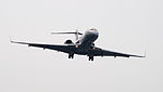 VistaJet Bombardier Global 6000 9H-IGH on Final Approach at Taipei Songshan Airport 20150427a.jpg