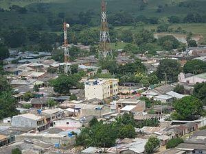 Puerto Libertador - Image: Vista aérea puerto libertador 1