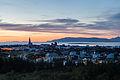 Vista de Reikiavik desde Perlan, Distrito de la Capital, Islandia, 2014-08-13, DD 140-142 HDR.JPG