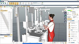 Human factors and ergonomics - Ergonomic evaluation in virtual environment