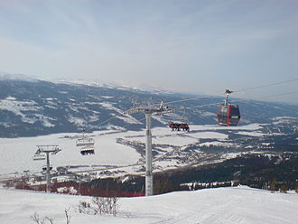"""FIS Alpine World Ski Championships 2007 - """"VM 8:an"""" hybrid lift, installed in 2006 for the 2007 World Championships"""