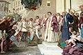 Volterrano, fasti medicei 07 Cosimo II riceve i vincitori dell'impresa di Bona, 1637-46, 06.JPG