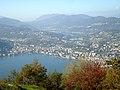 Vue de Lugano et du lac depuis le Monte Brè 05.JPG