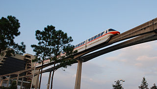 The Walt Disney World Monorail System provides free transport across the resort.