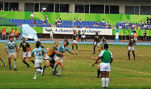 Rugby sevens at the World Games - South Africa and Argentina tangle in rugby sevens at the World Games