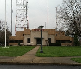 WKBN-TV - WKBN-TV transmitter, office and studio building, located at 3930 Sunset Boulevard, about five miles south of downtown Youngstown. This is also the main base of operations for sister Fox affiliate WYFX-TV, and ABC affiliate WYTV-TV; the latter of which is operated under a shared-services agreement with WKBN-TV.