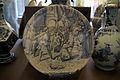 WLANL - Quistnix! - Museum Boijmans van Beuningen - Vitrine Majolica en Delfts aardewerk 4, detail bord.jpg