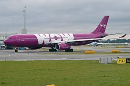 Airbus A330 van WOW air