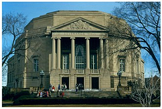 Severance Hall - Image: WW Severance Hall 1