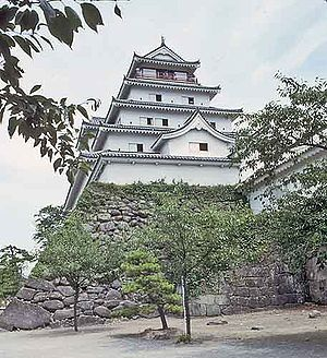 Gamō Ujisato - Aizu Wakamatsu Castle, where Ujisato was based