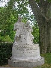 Denkmal im Wiener Rathauspark (Quelle: Wikimedia)
