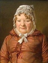 Mutter des Hauptmanns von Stierle-Holzmeister (um 1819), Alte Nationalgalerie, Berlin (Quelle: Wikimedia)