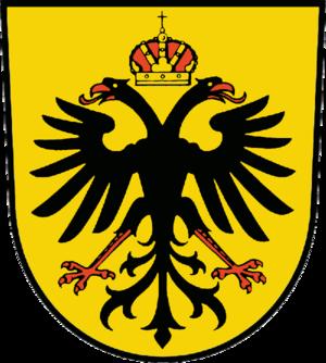 Ruhland - Image: Wappen Ruhland