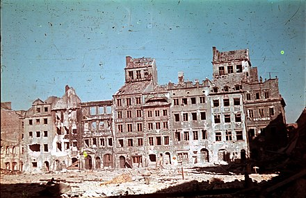 Warsaw's Old Town, August 1944 Warsaw Uprising 12345.jpg