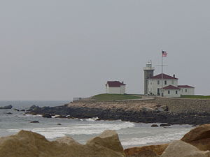 Watch Hill, Rhode Island - Image: Watchhilllighthouse