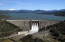 Water released from Shasta Dam (2017).jpg