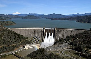 Shasta Dam Dam in Shasta County, California