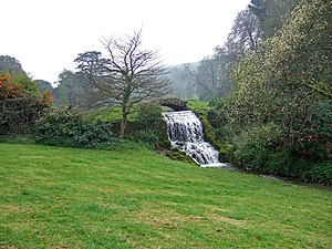 River Bride, Dorset - Source of the River Bride at Bridehead House, Littlebredy