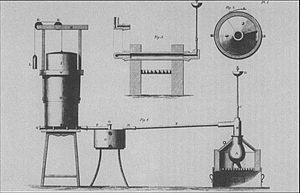 Pneumatic Institution - Apparatus designed by James Watt in preparation of the Pneumatic Institution