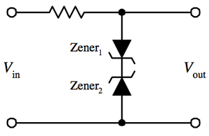 Zener diode - Image: Wave Clipper 1