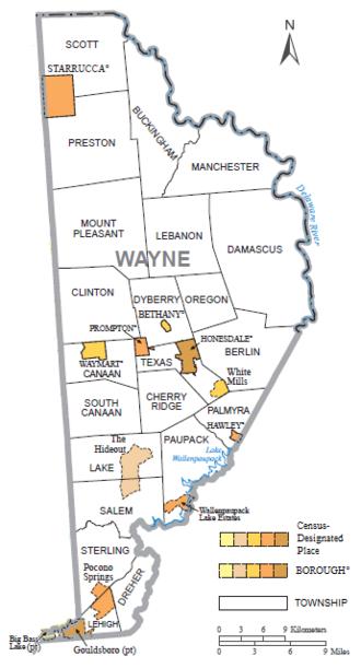 Wayne County, Pennsylvania Facts
