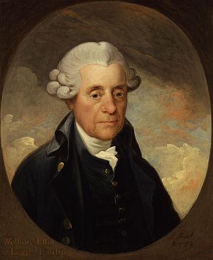 Welbore Ellis, 1st Baron Mendip - Image: Welbore Ellis, 1st Baron Mendip by Karl Anton Hickel