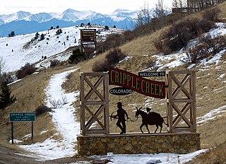 Cripple Creek, Colorado City in Colorado, United States